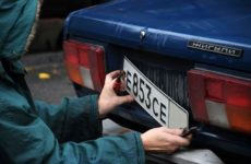 Кража гос.номера с автомобиля: какая ответственность за преступление по УК РФ